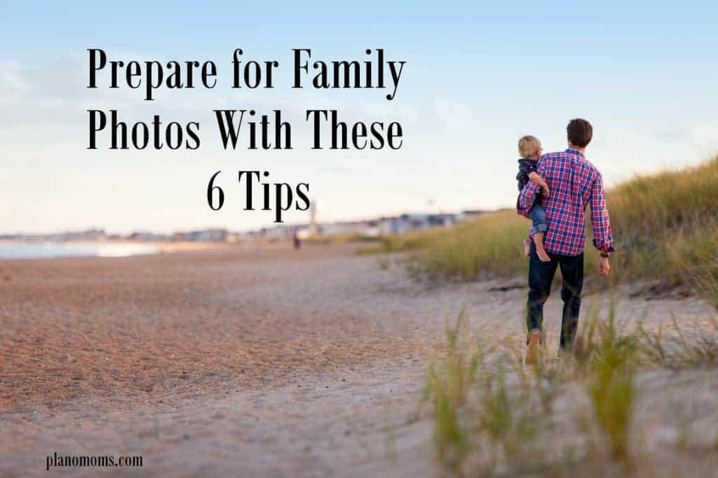Prepare for Family Photos