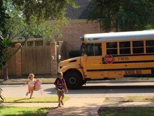 Plano ISD School Bus