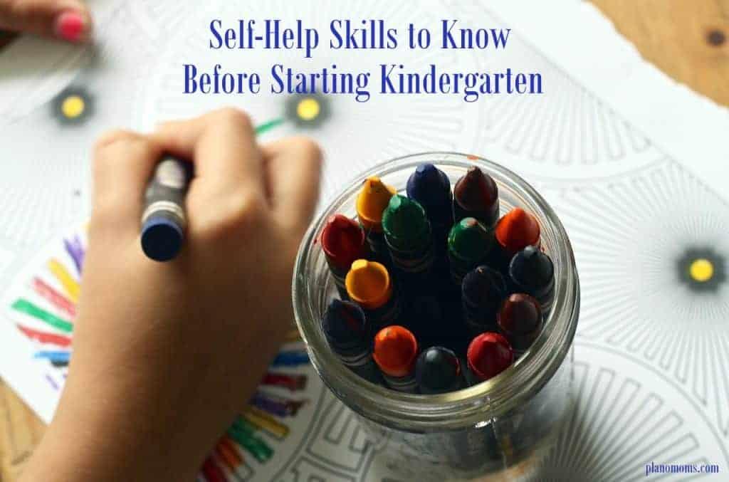 self-help skills kinder