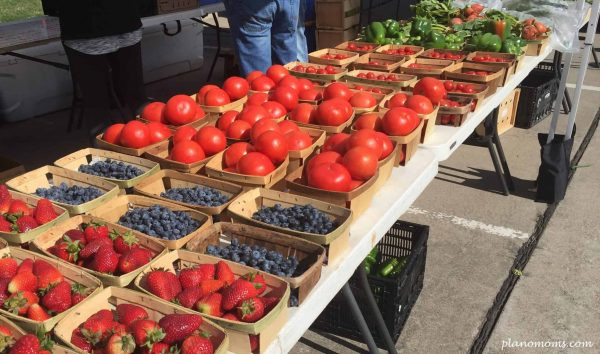 Vegetables and Fruit at Farmers Market