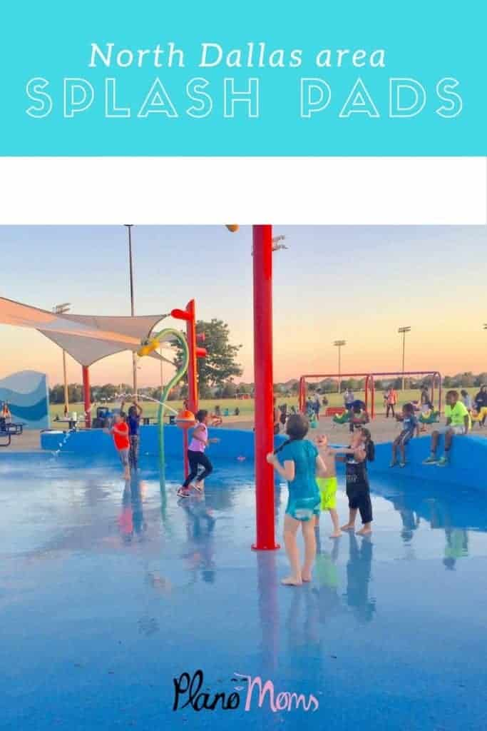 The best splash pad parks for kids to get wet in the North Dallas area.