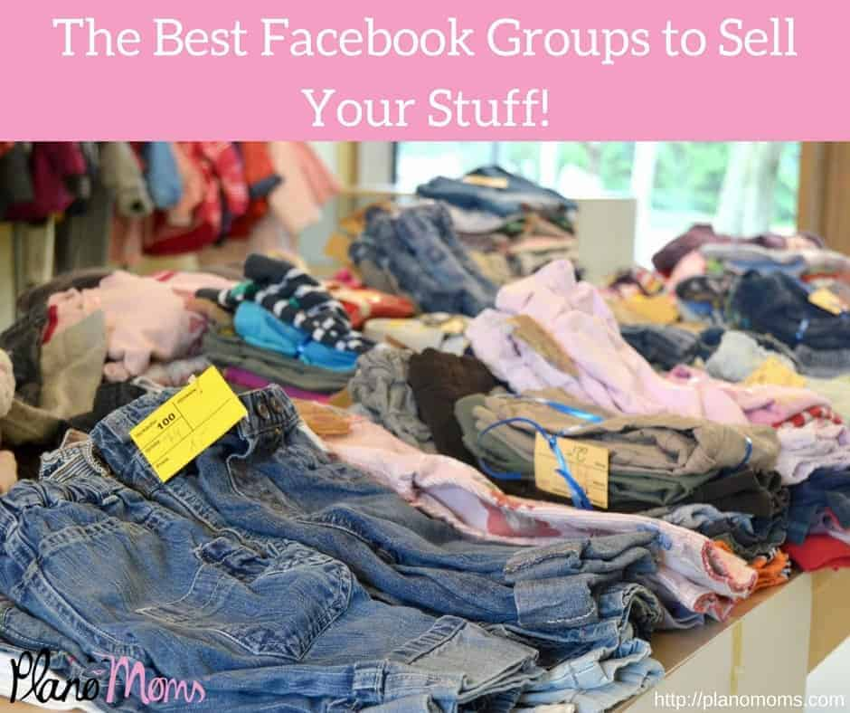 The Best Facebook Groups to Sell Your Stuff