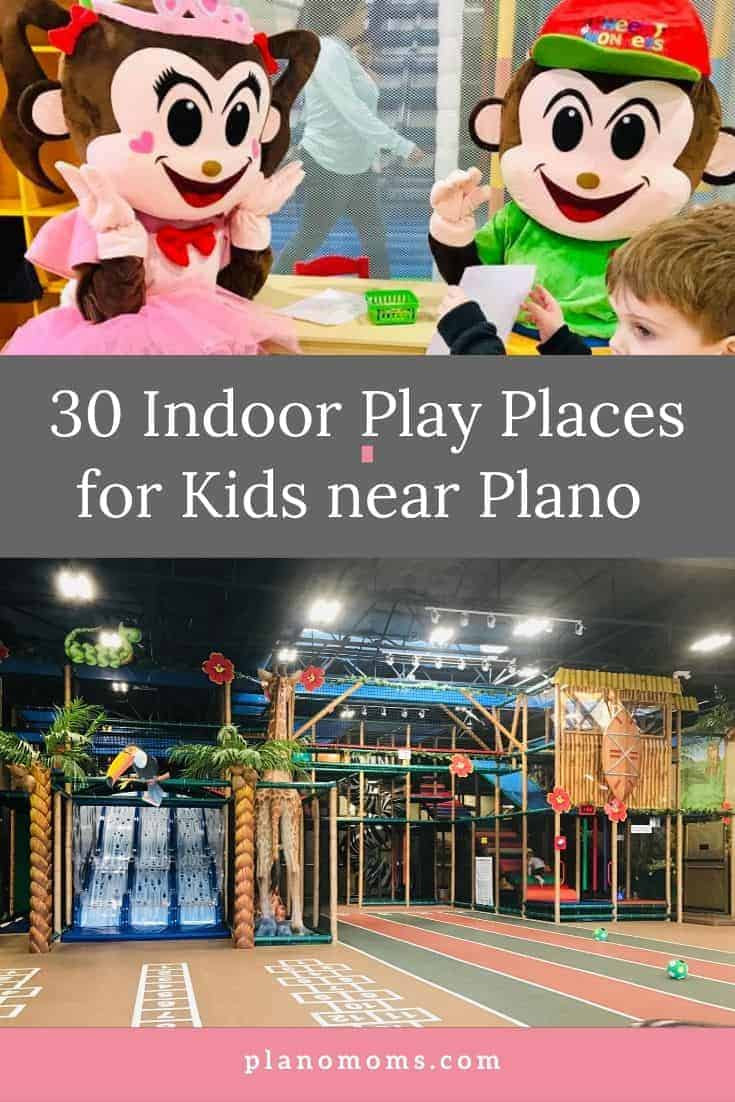 Indoor Play Places in Plano PIN