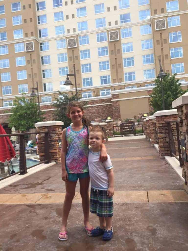 take a cheap staycation winstar casino with kids