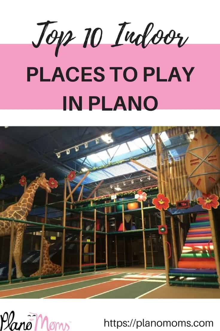 Top 10 Indoor Places to Play in Plano, TX