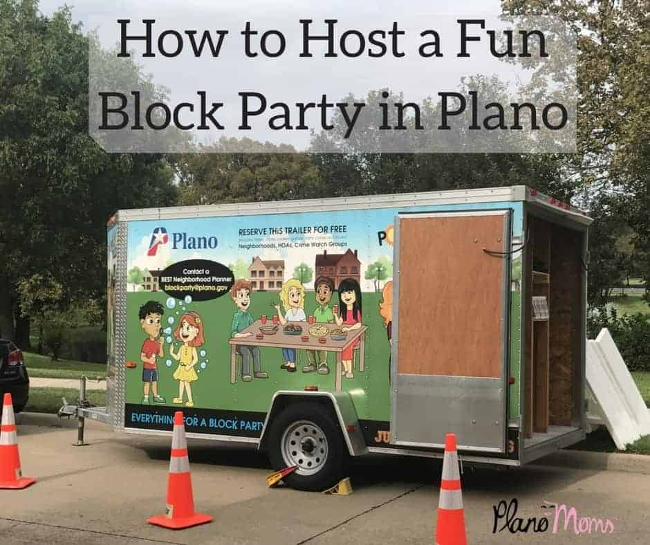 Host a Fun Block Party in Plano