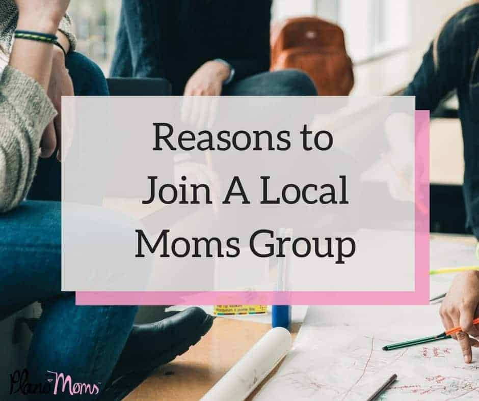 Reasons to Join A LocalMoms Group