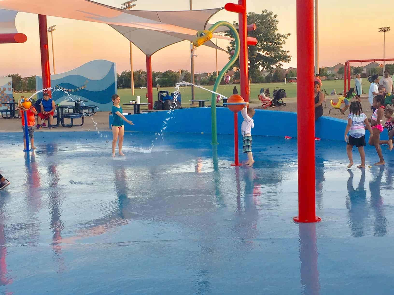 Splash Pads North Dallas
