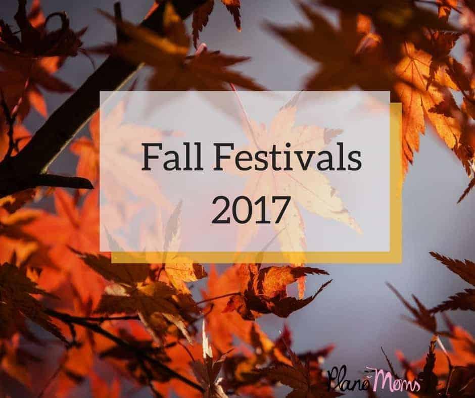 Fall Festivals 2017