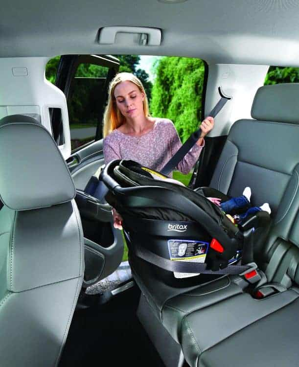 Britax new Endeavours Car Seat