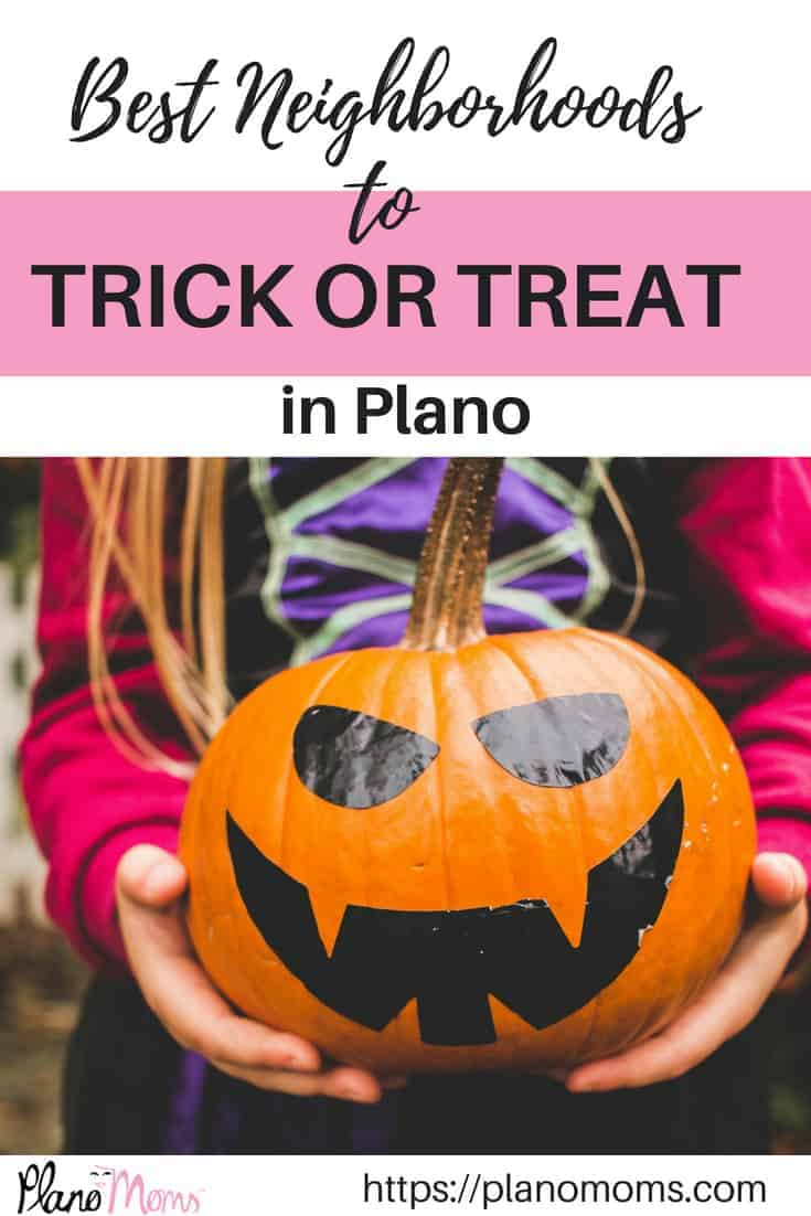Best Neighborhoods to trick or treat in Plano, TX Collin County //planomoms.com