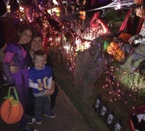 Trick or treating in Plano