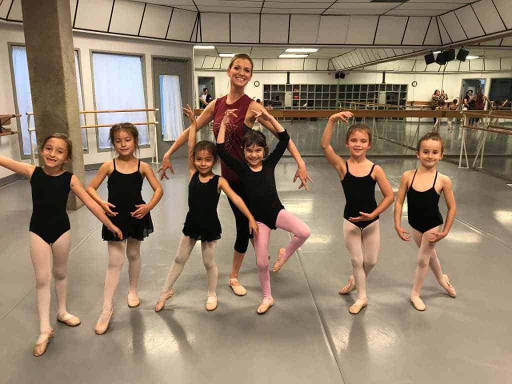chamberlain ballet in Plano