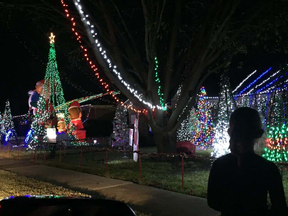 Westridge Dr. Christmas Lights