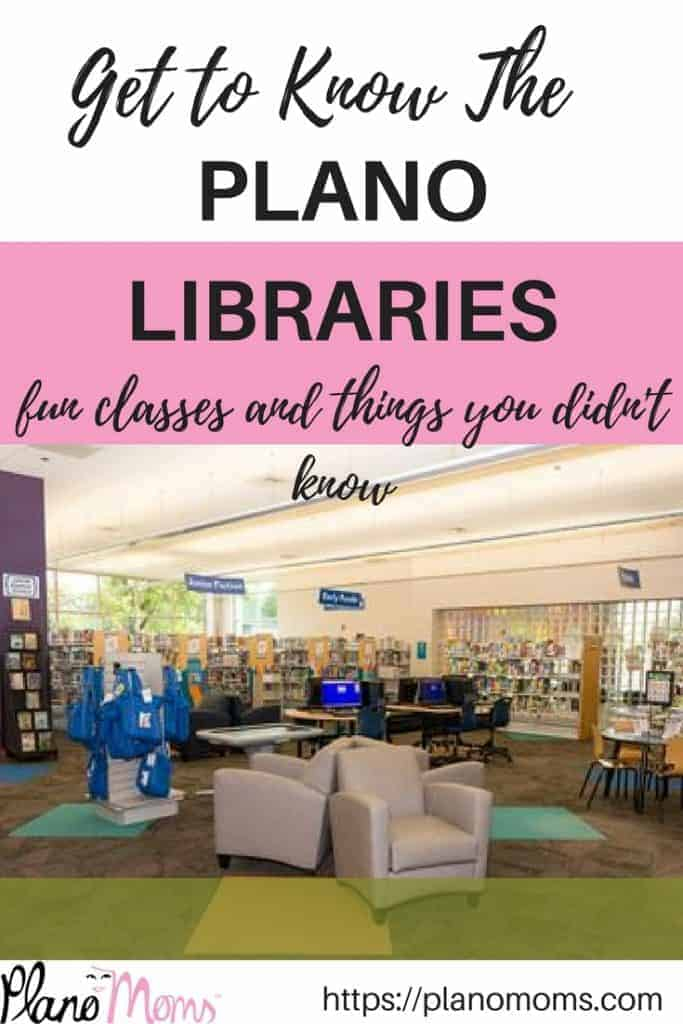 Get to know the Plano Public Library and things you might not know about it.