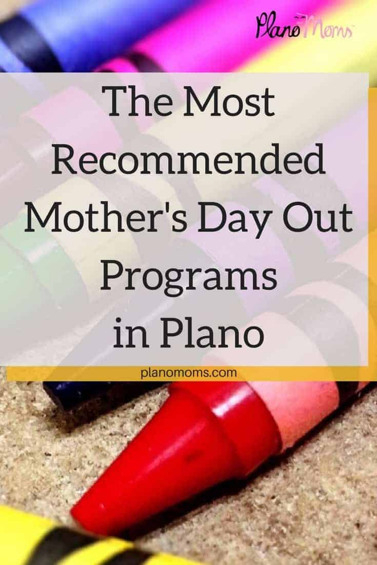 The Most Recommended Mother's Day Out Programs in Plano, TX