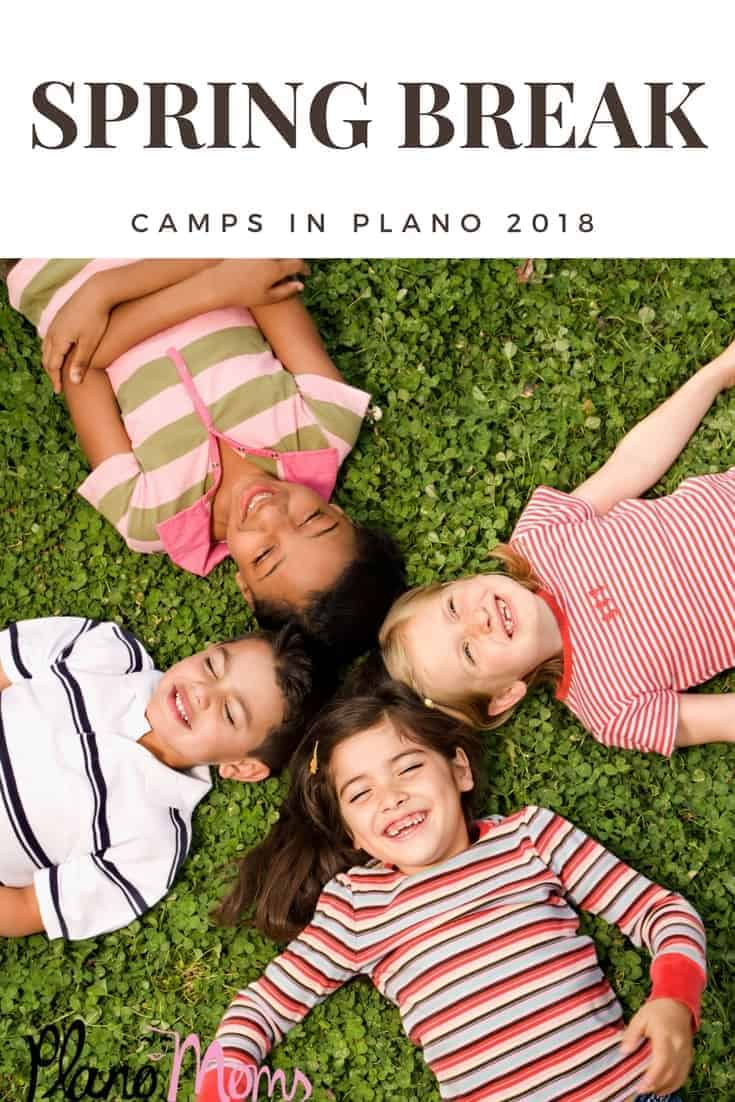 looking for a spring break camp? check out these camps offered in plano, tx.