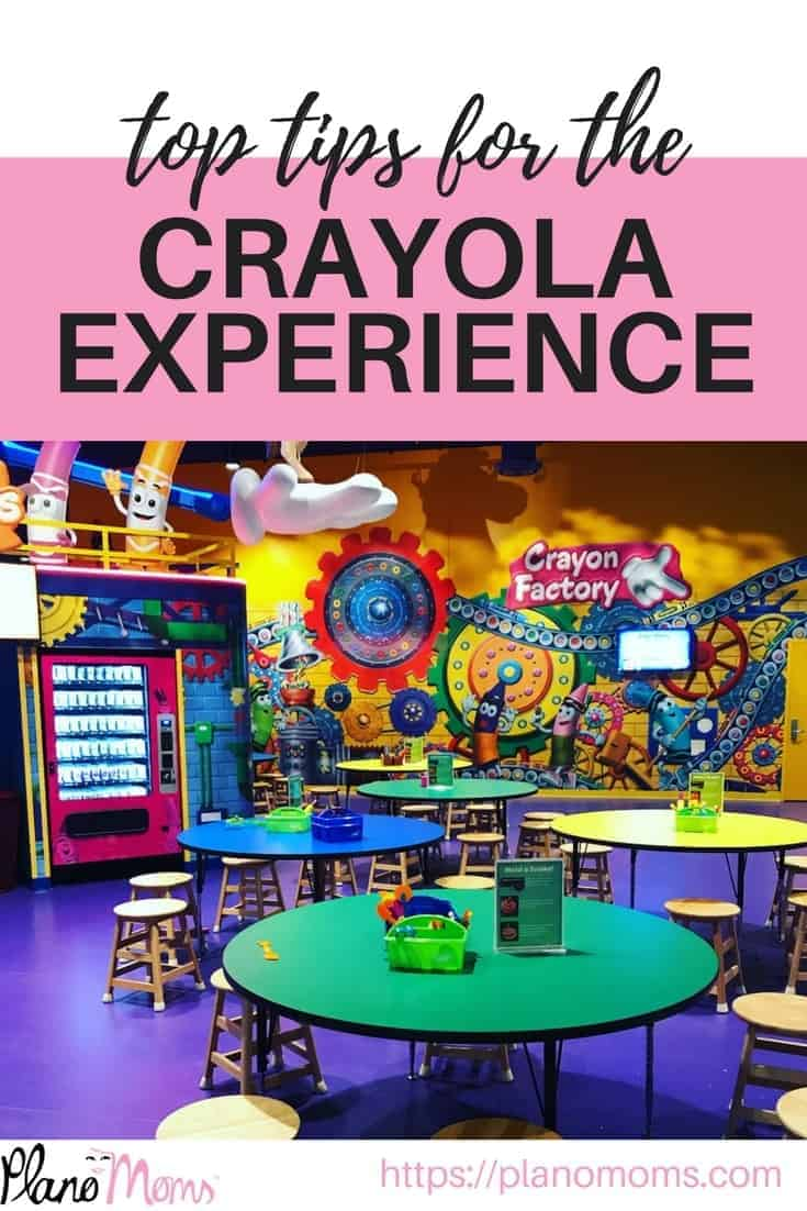 Our top tips for the crayola experience in Plano, TX