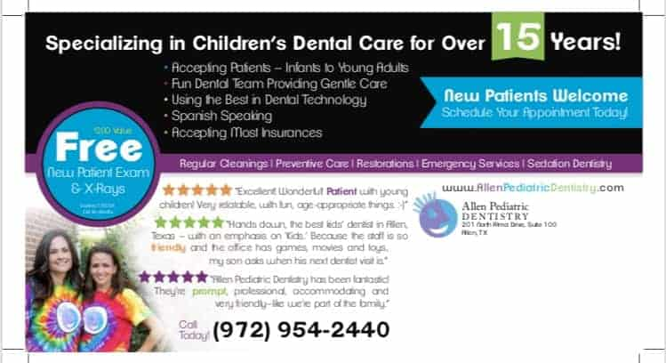 The Most Recommended Pediatric Dentists in Collin County