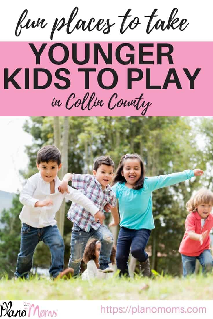 A full list of fun places to take younger kids to play in the Collin County area