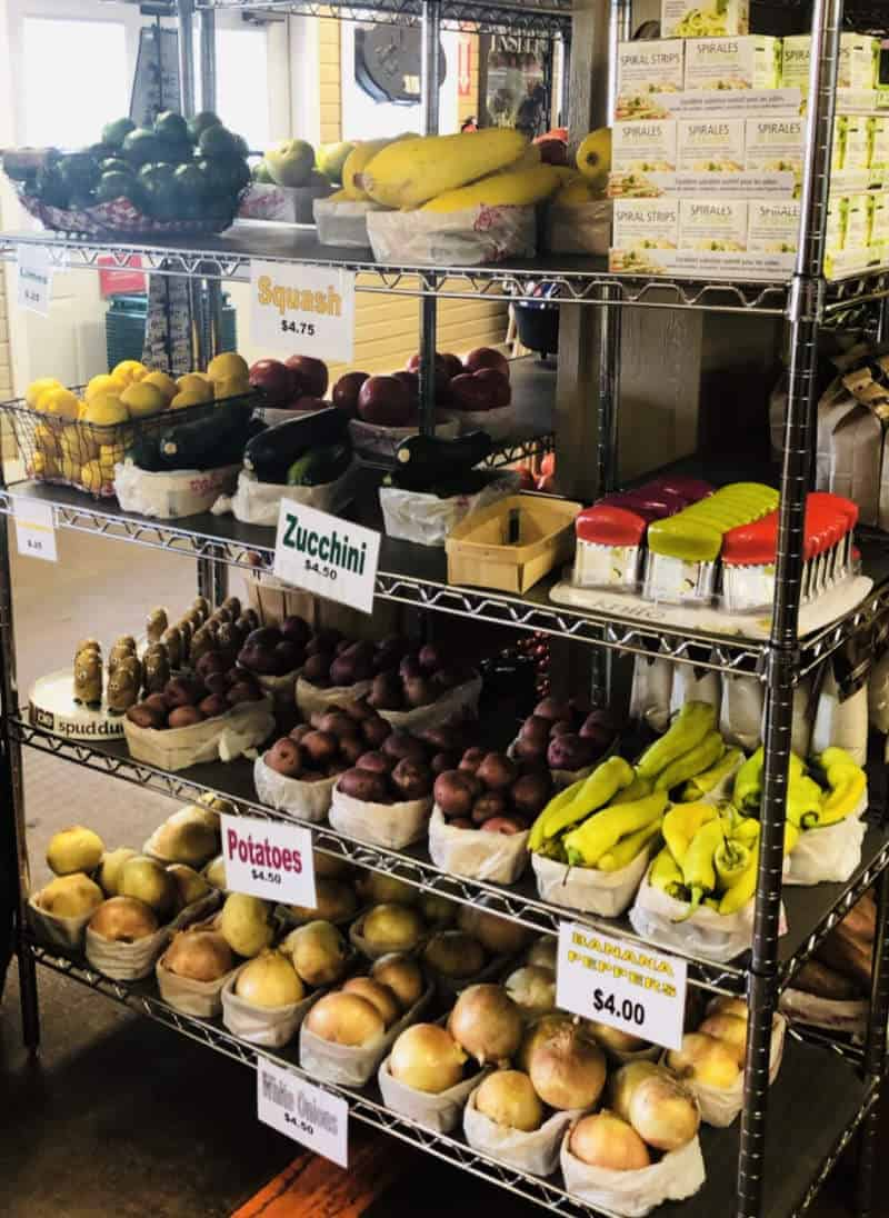 Produce for sale in store TX