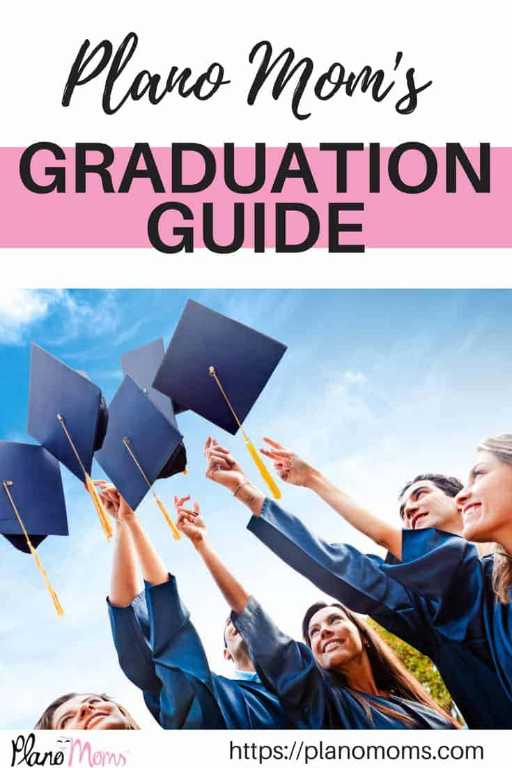 Graduation guide for Plano Moms, Collin County