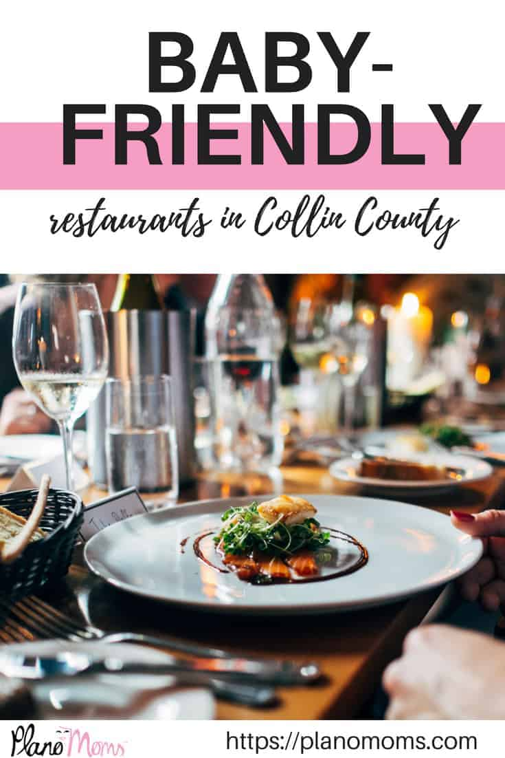 baby friendly restaurants in Collin County