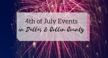 4th July Fireworks in North Dallas