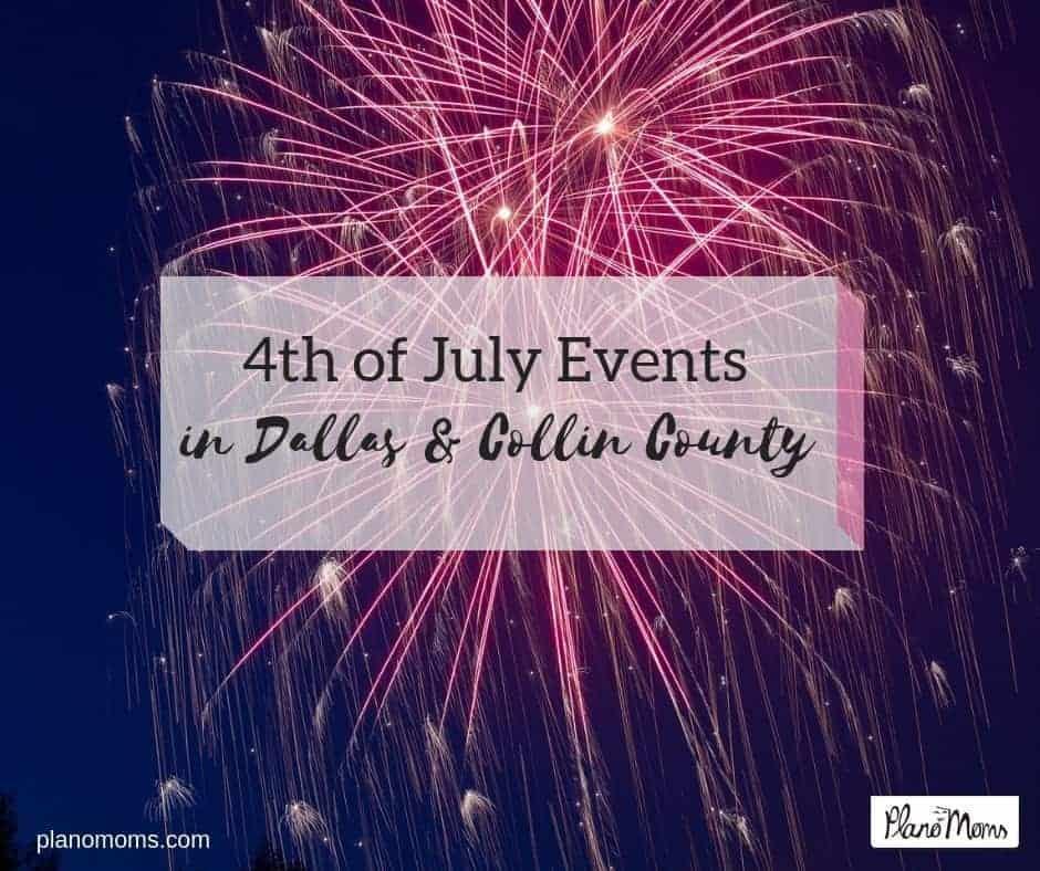 4th July Fireworks in North Dallas