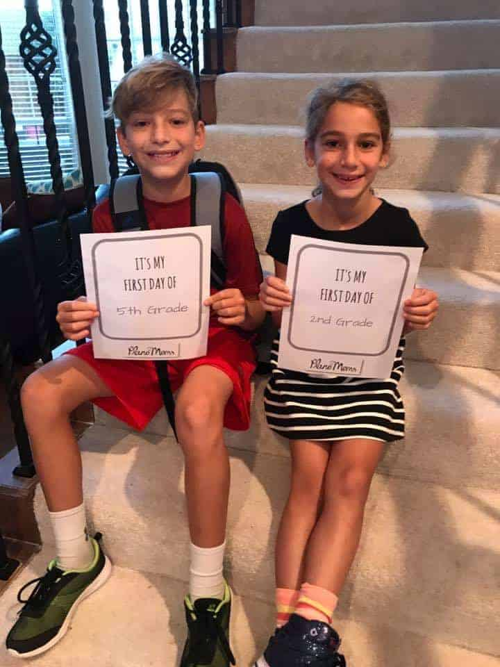 Plano Moms Printable signs