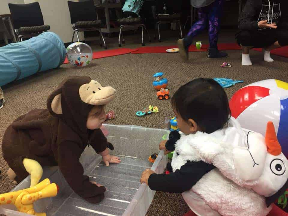 Babies in Mommy Groups Plano
