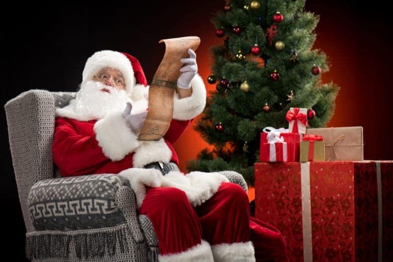 Santa in Plano TX