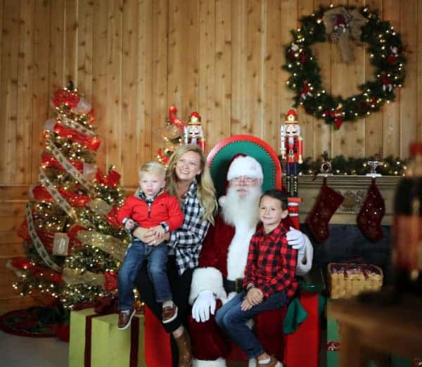 Santa at Prairie Lights, TX