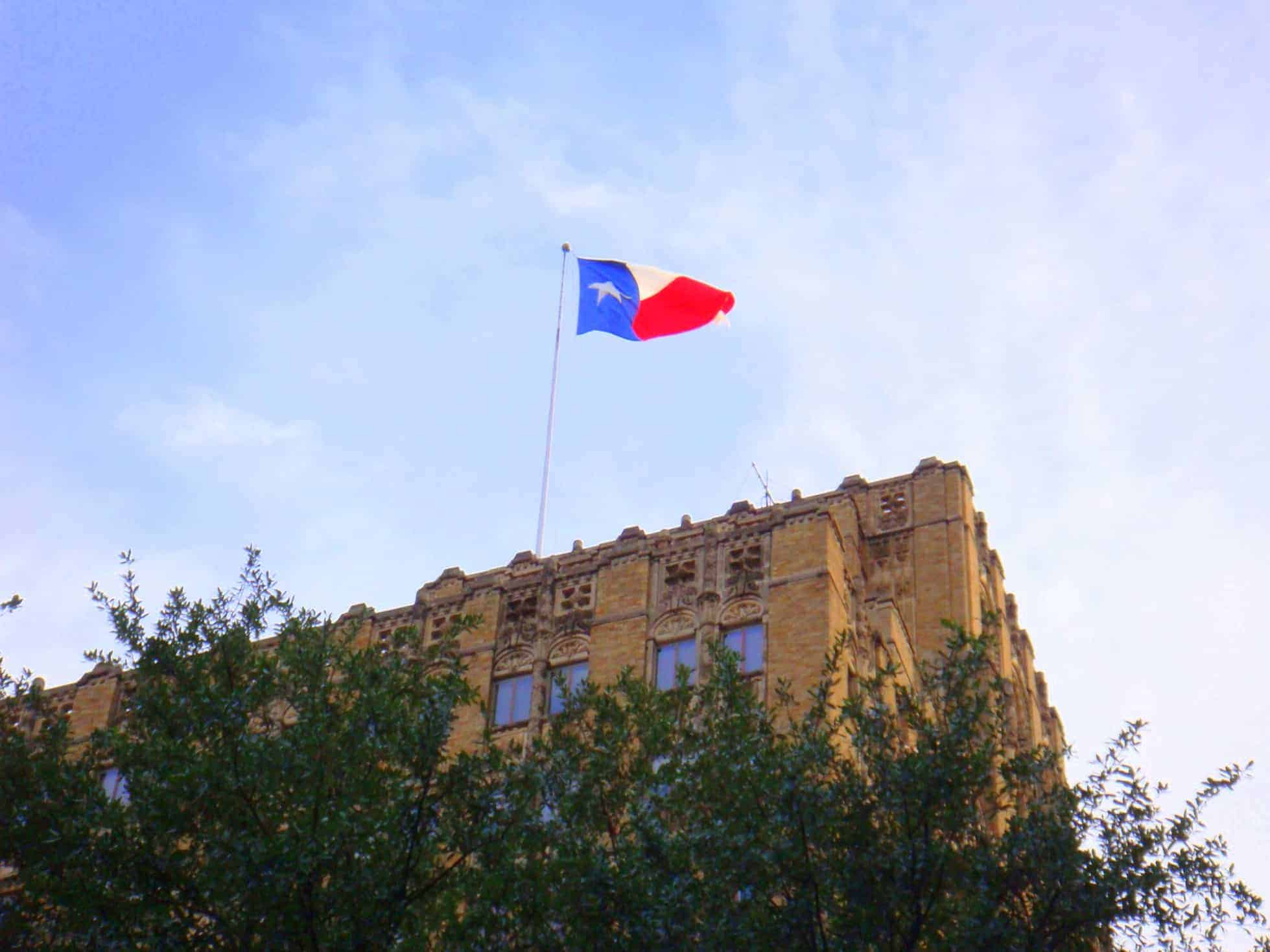 The Lone Star Flag in Texas