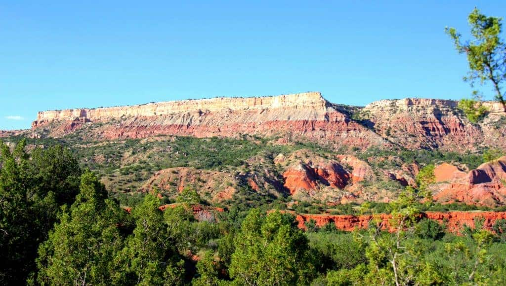Palo Duro in Texas View