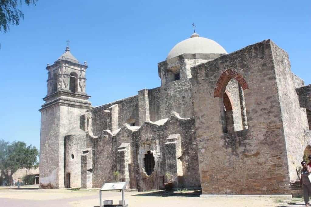 San Antonio Mission in Texas