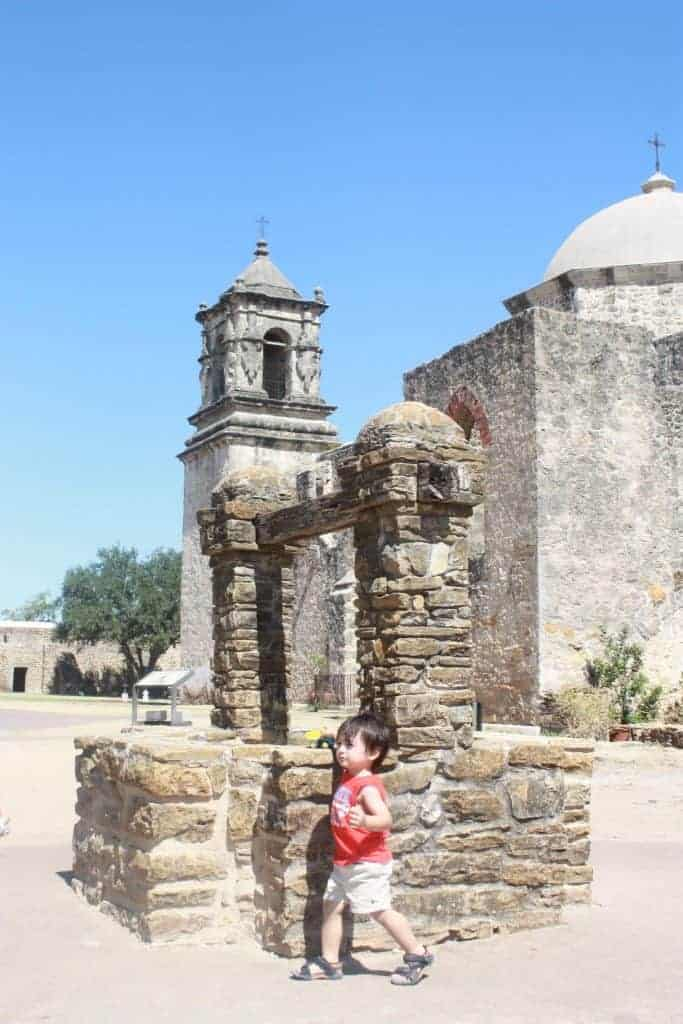 San Antonio Mission in TX