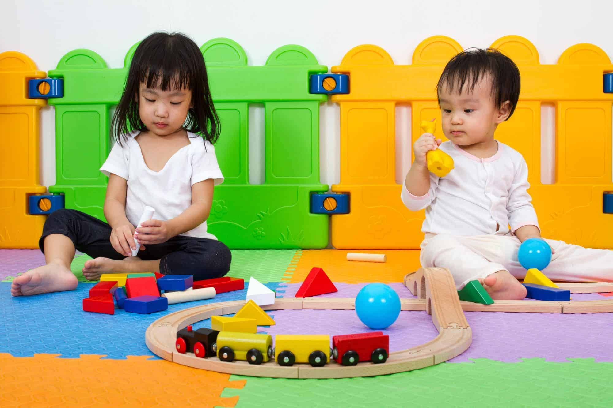 In Home Childcare play