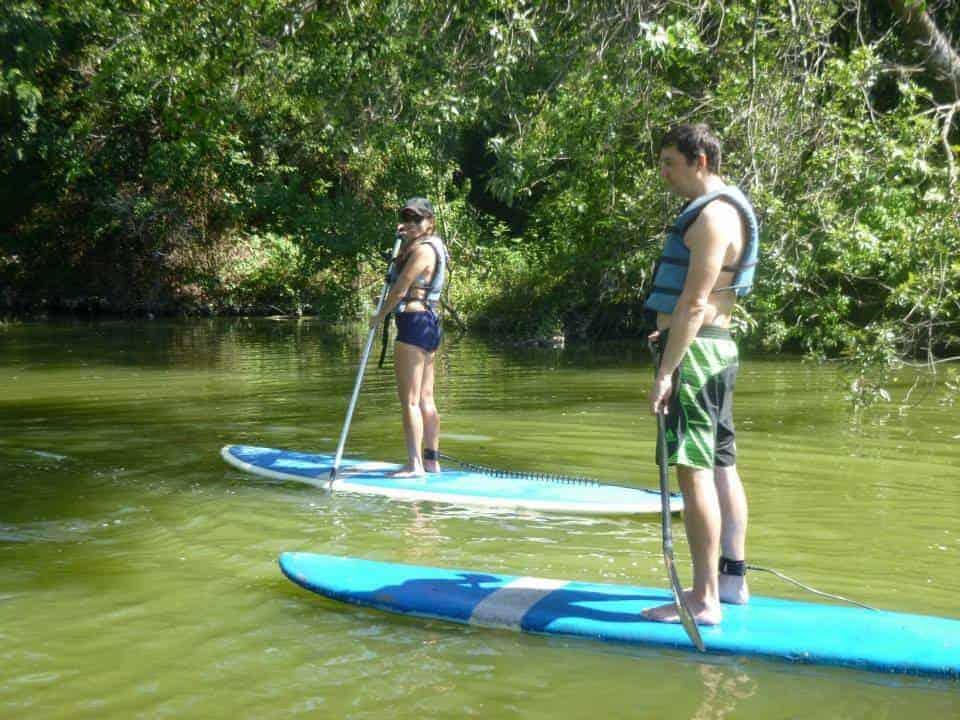 Paddle Boarding at White Rock Lake Date Idea
