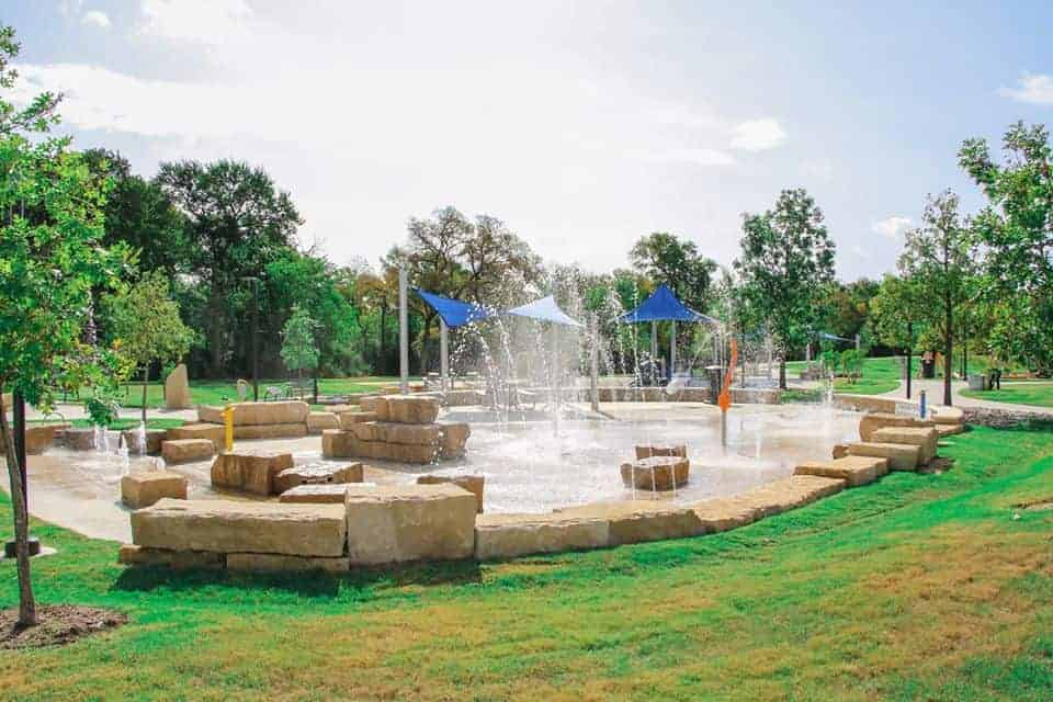 Splash Pad at Windhaven Meadows Park Plano