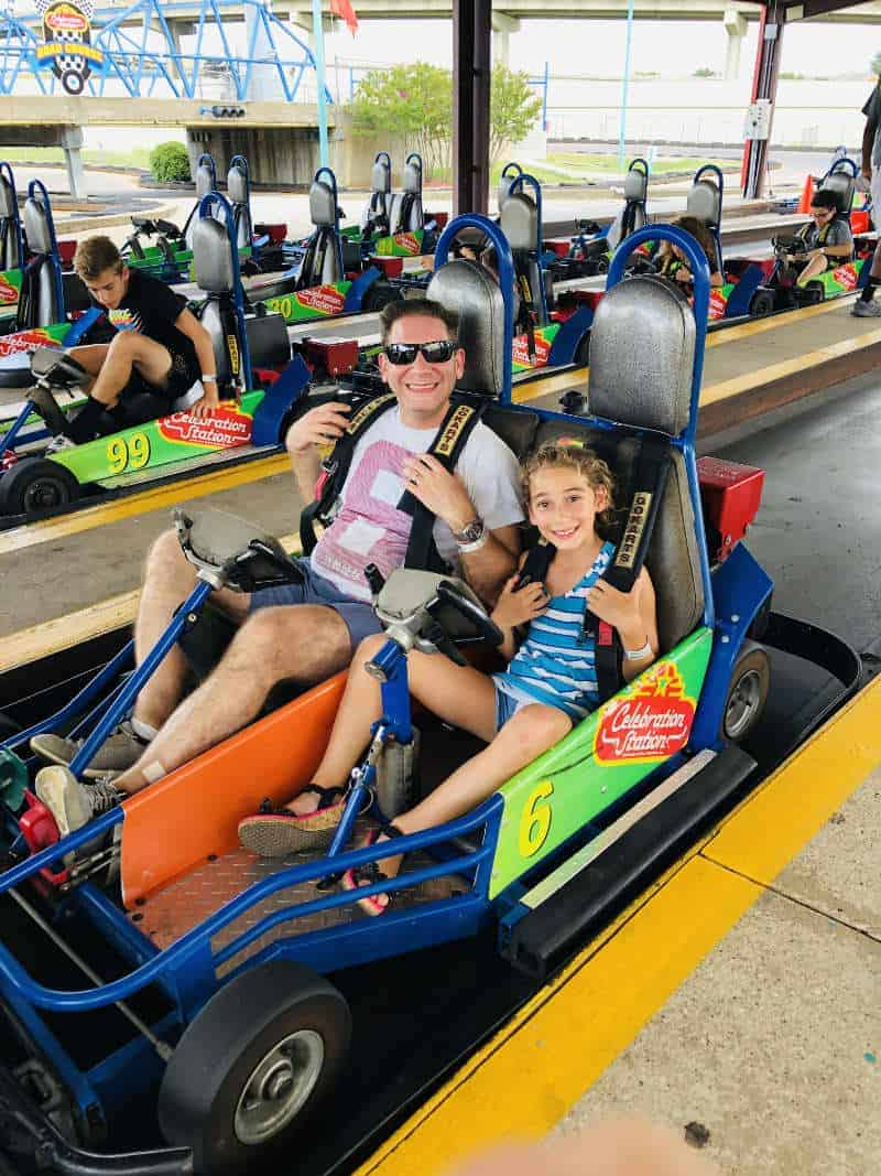 Go Karts at Celebration Station