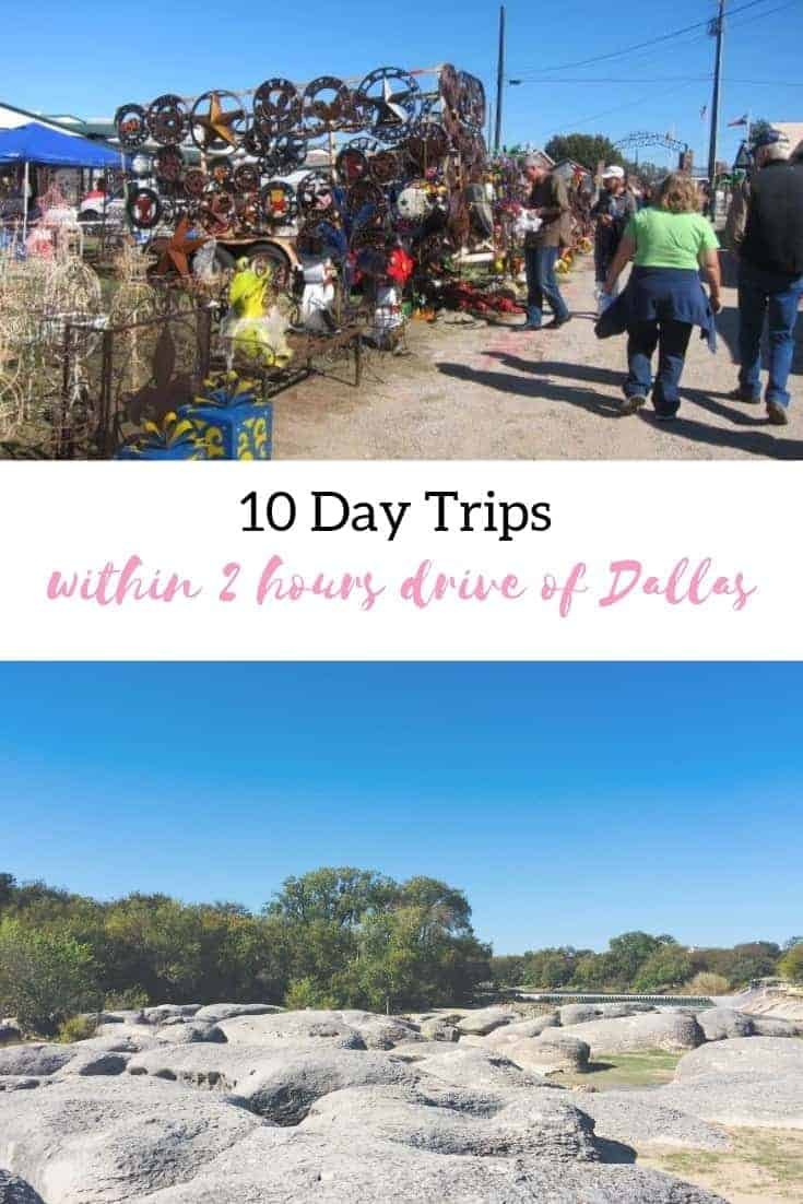 10 day trips from Dallas