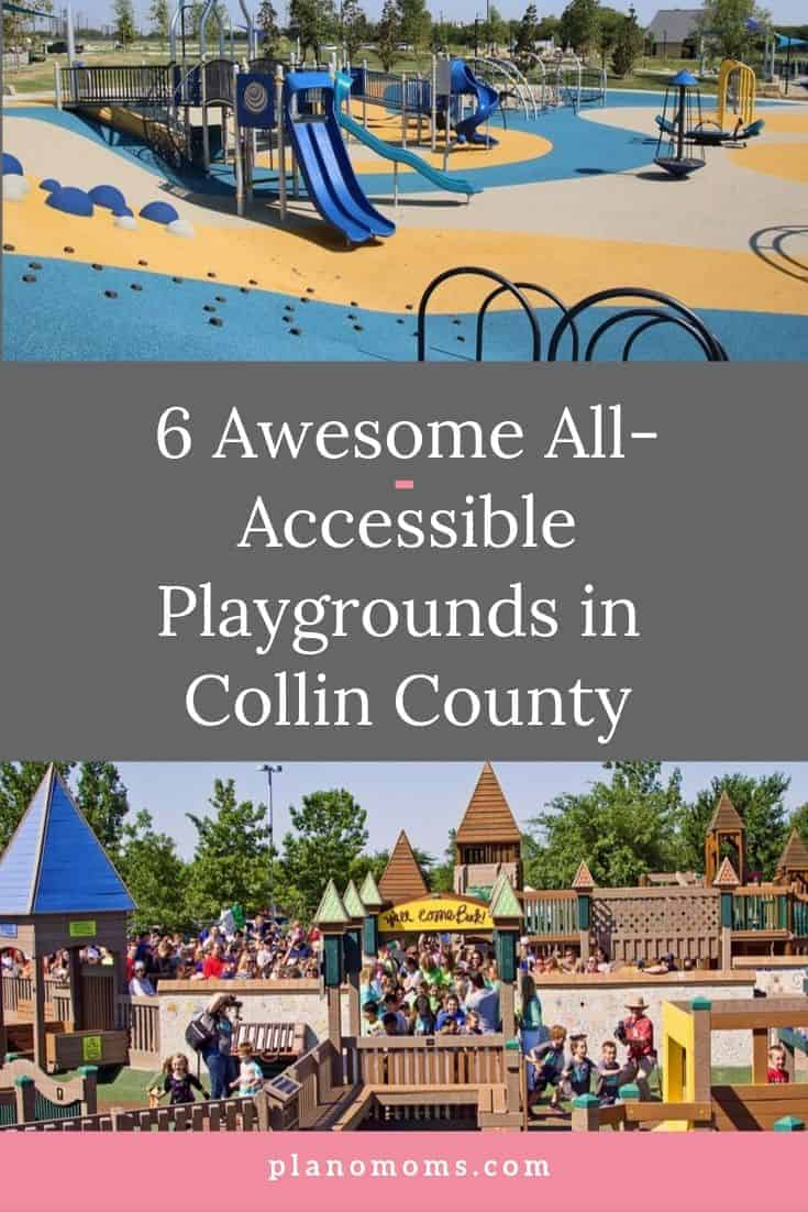 6 all accessible playgrounds in Collin County