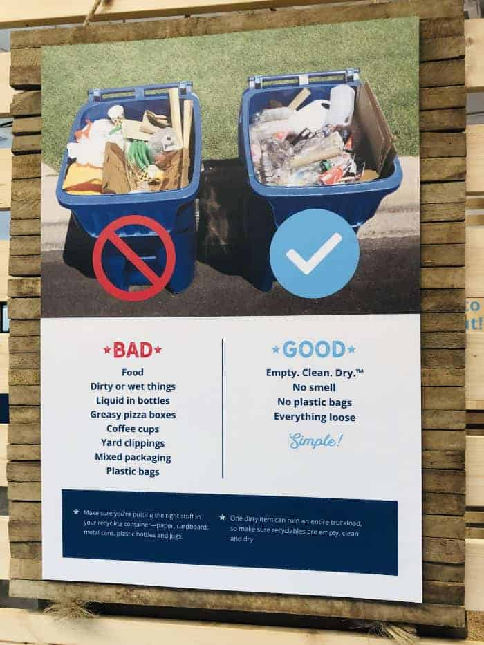 Recycling in Plano