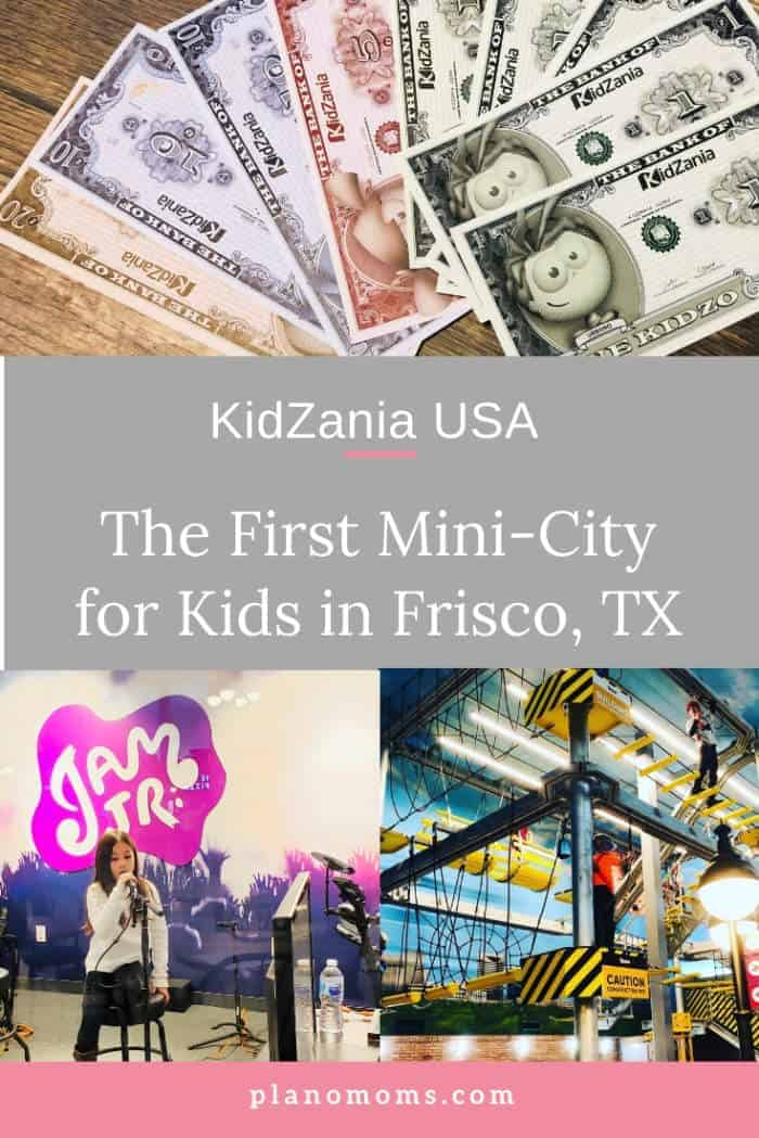 KidZania Dallas Pinterest