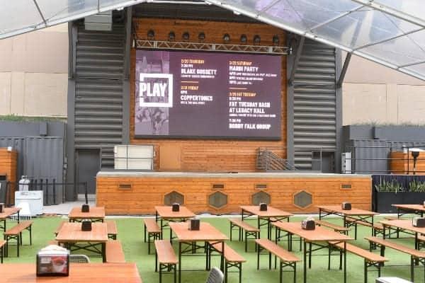 Legacy Hall Box garden plano tX