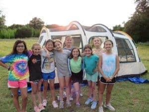 Camp Twin lakes girls