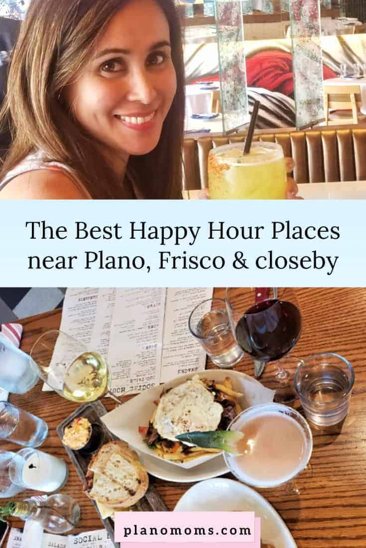 The Best Happy Hour Places near Plano, Frisco and close by