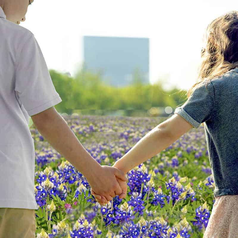 Kids in the Bluebonnets