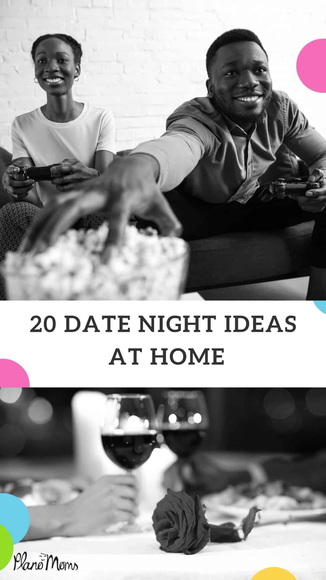 20 Date Night Ideas at home